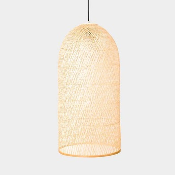 Suspension cap small naturel o38cm h92cm ay illuminate normal