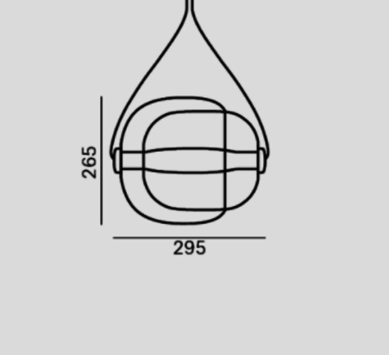 Capsula lucie koldova suspension pendant light  brokis pc937cgc23cgci749ccs846cecl519ceb756  design signed 33584 product