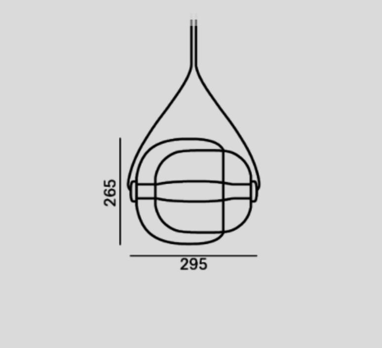 Capsula lucie koldova suspension pendant light  brokis pc937cgc23cgci685ccs846cecl519ceb756  design signed 33582 product