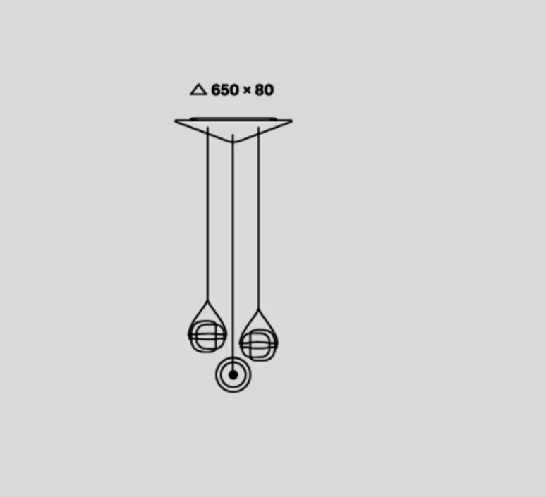 Capsula lucie koldova suspension pendant light  brokis pc943cgc23cgci682cgci681cgci685ccs846cecl519ceb756  design signed 33588 product
