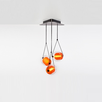 Suspension capsula orange h200cm brokis normal