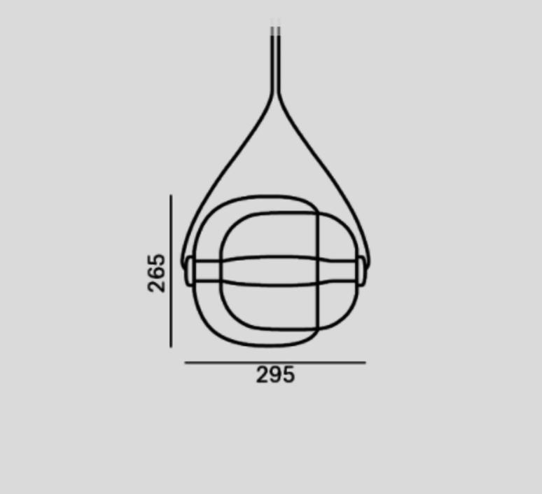 Capsula lucie koldova suspension pendant light  brokis pc937cgc23cgci683ccs846cecl519ceb756  design signed 33580 product