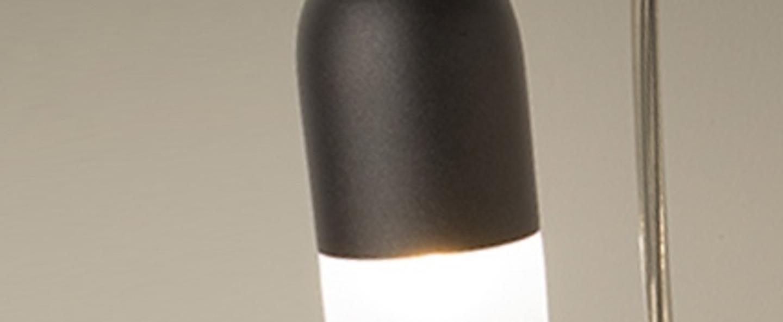 Suspension capsule anthracite o6 5cm h180cm alma light normal