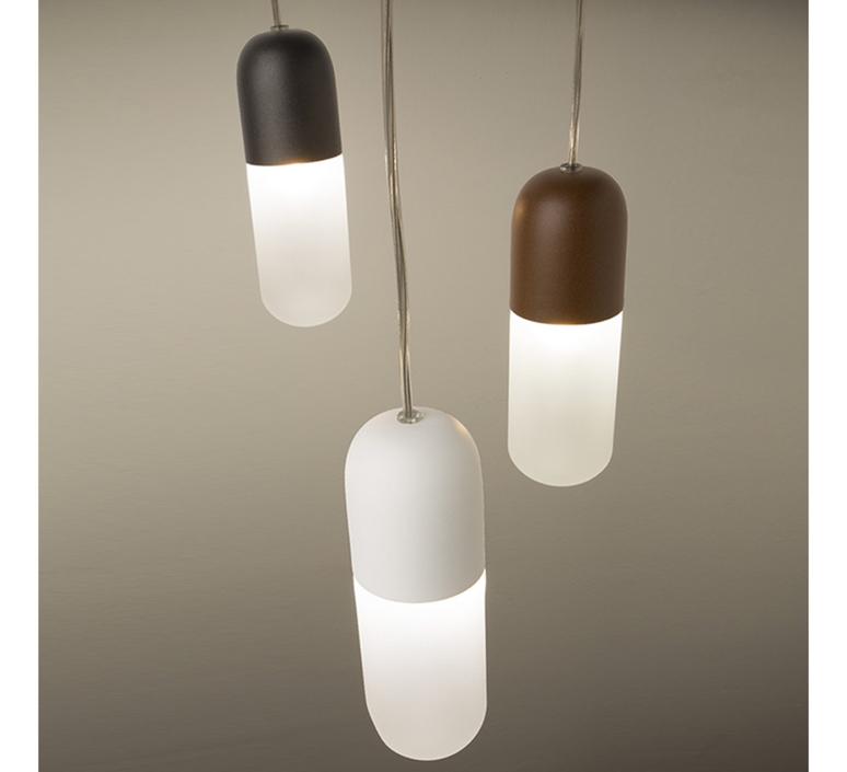 Capsule cristian cubina suspension pendant light  alma light 5320 018  design signed nedgis 116740 product