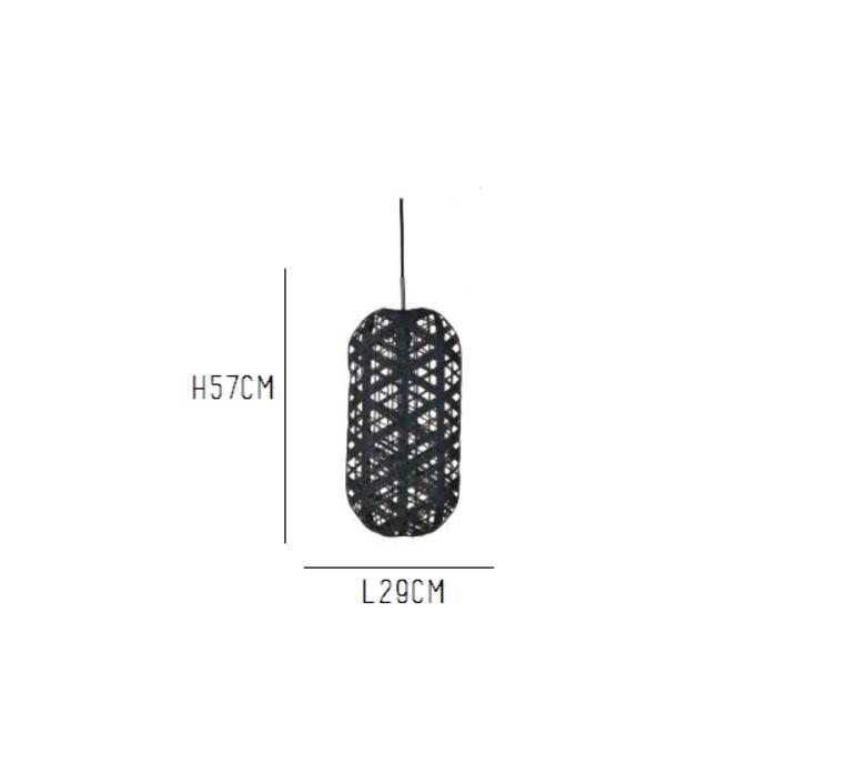 Capsule black m anon pairot suspension pendant light  forestier 20165  design signed 30697 product