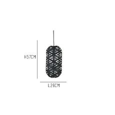 Capsule black m anon pairot suspension pendant light  forestier 20165  design signed 30697 thumb