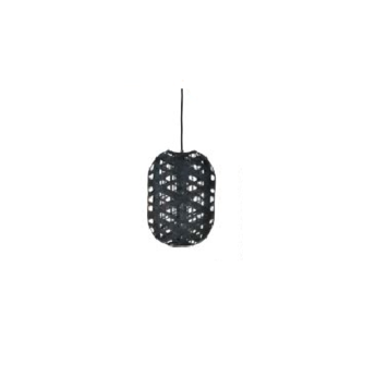 Suspension capsule black s noir h36cm l24 5cm forestier normal