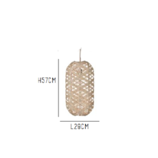 Capsule natural m anon pairot suspension pendant light  forestier 20163  design signed 30708 thumb