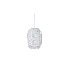 Capsule white s anon pairot suspension pendant light  forestier 20161  design signed 30704 thumb