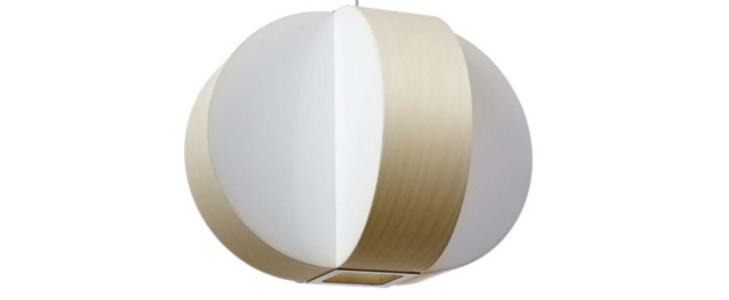 Suspension carambola sm blanc ivoire t5 o60cm h45cm lzf normal