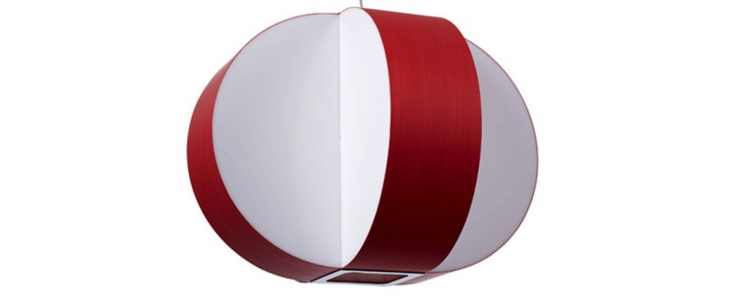 Suspension carambola sm rouge t5 o60cm h45cm lzf normal