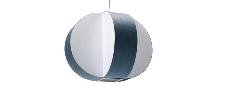 Suspension carambola sp bleu led o40cm h30cm lzf normal