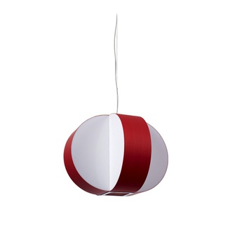 Suspension carambola sp rouge led o40cm h30cm lzf normal