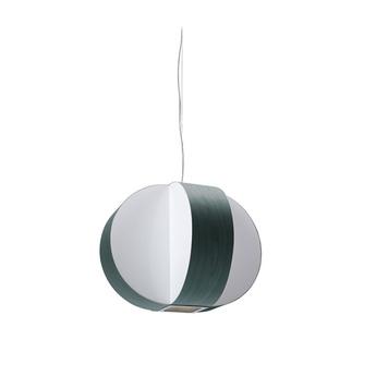 Suspension carambola sp turquoise led o40cm h30cm lzf normal