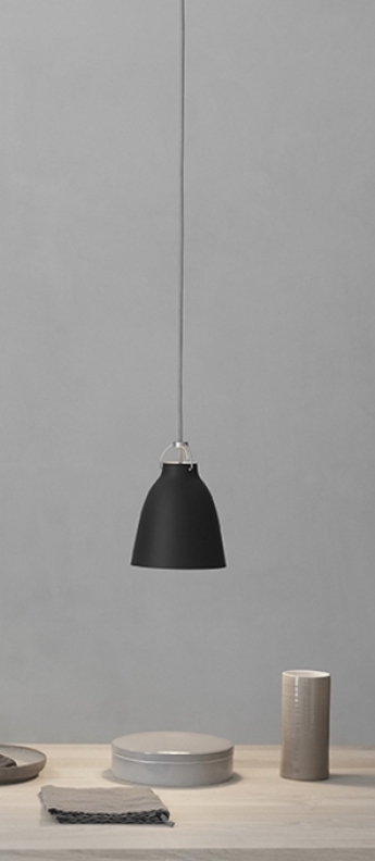 Suspension caravaggio matt p1 noir o16 5cm h21 6cm lightyears normal