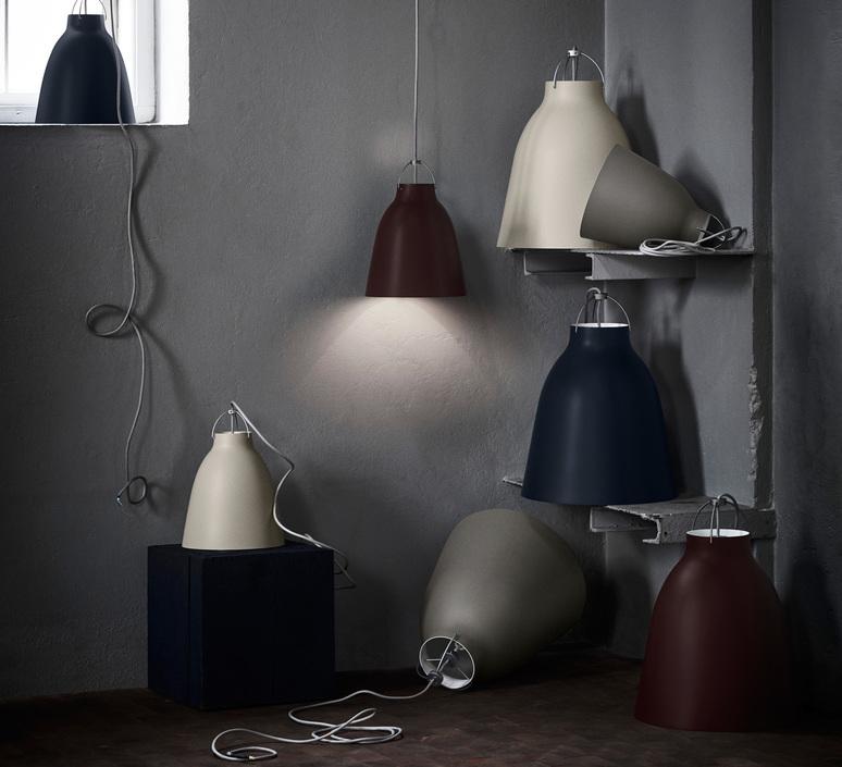 Caravaggio matt p1 cecilie manz suspension pendant light  nemo lighting 14037108  design signed nedgis 67079 product