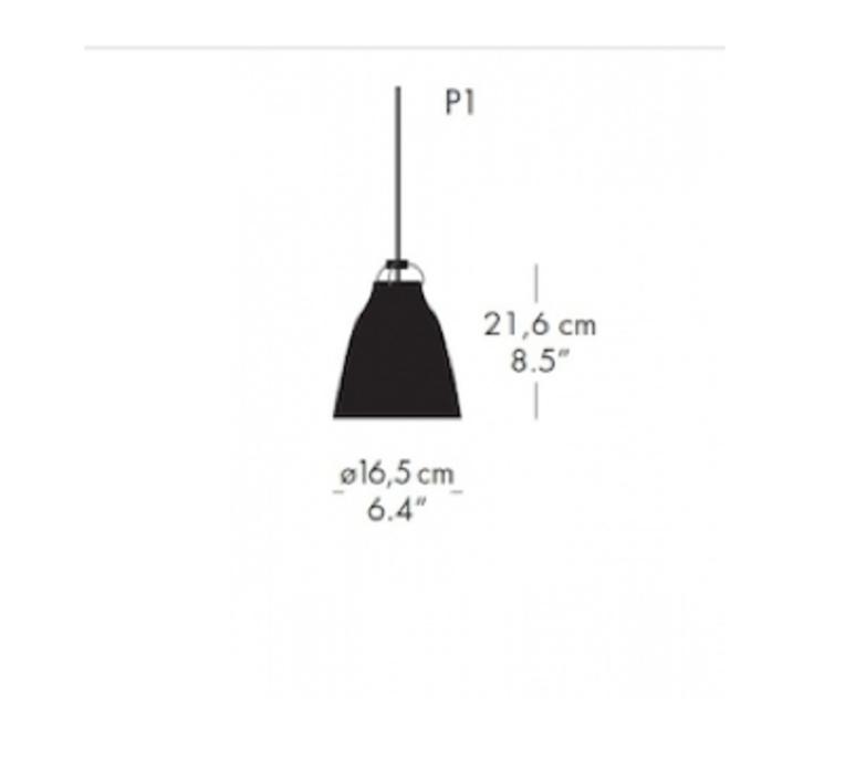 Caravaggio matt p1 cecilie manz suspension pendant light  nemo lighting 14037108  design signed nedgis 67085 product
