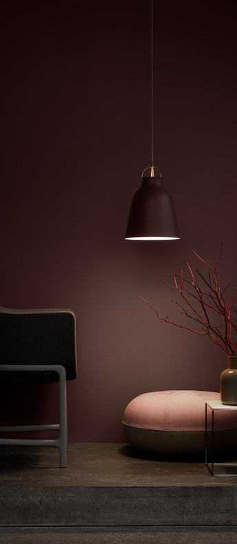 Suspension caravaggio matt p2 bordeaux o25 8cm h33 7cm lightyears normal