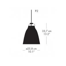 Caravaggio matt p2 cecilie manz suspension pendant light  nemo lighting 74627501  design signed nedgis 67096 thumb