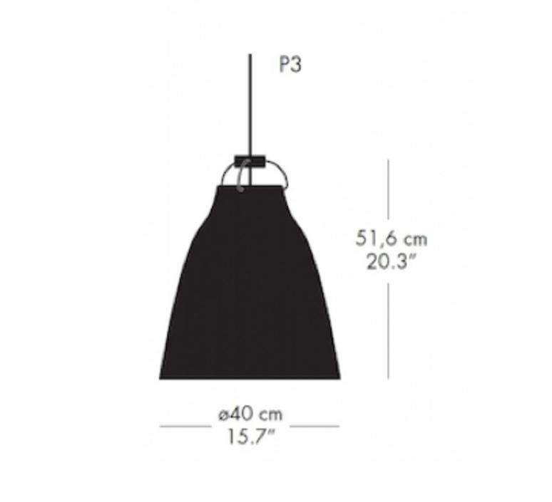 Caravaggio matt p3 cecilie manz suspension pendant light  nemo lighting 74627703  design signed nedgis 67110 product