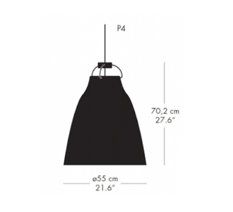 Caravaggio matt p4 cecilie manz suspension pendant light  nemo lighting 14037408  design signed nedgis 67120 product