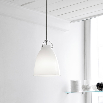 Suspension caravaggio opal p2 blanc o25 8cm h33 7cm lightyears normal