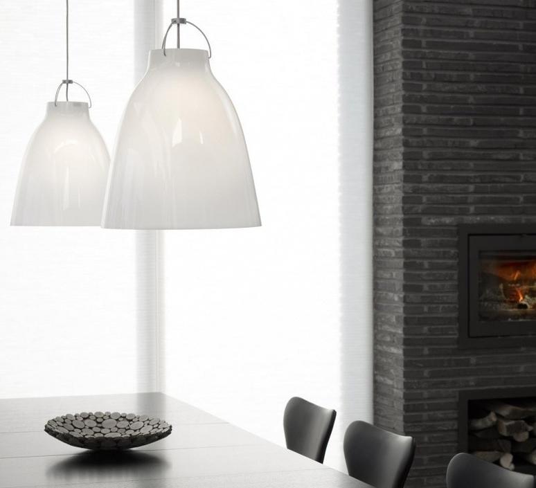 Caravaggio opal p3 cecilie manz suspension pendant light  nemo lighting 84184105  design signed nedgis 66629 product