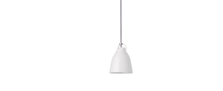 Suspension caravaggio p0 blanc o11cm h14 5cm lightyears normal