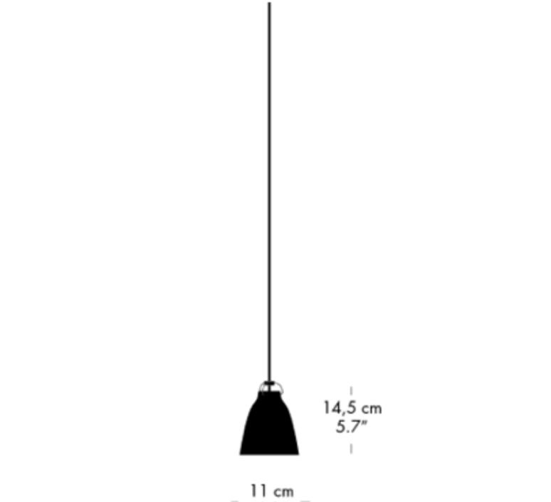 Caravaggio p0 cecilie manz suspension pendant light  nemo lighting 74006605  design signed nedgis 66569 product
