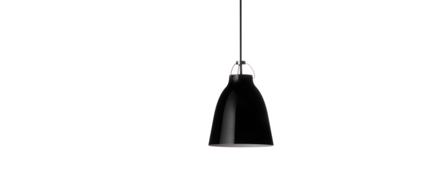 Suspension caravaggio p0 noir o11cm h14 5cm lightyears normal