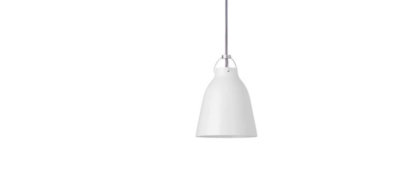 Suspension caravaggio p1 blanc o16 5cm h21 6cm lightyears normal