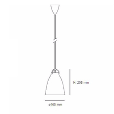 Caravaggio p1 cecilie manz suspension pendant light  nemo lighting 54006905  design signed nedgis 66575 thumb