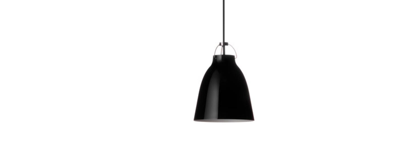 Suspension caravaggio p1 noir o16 5cm h21 6cm lightyears normal