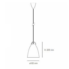Caravaggio p1 cecilie manz suspension pendant light  nemo lighting 54007608  design signed nedgis 66581 thumb