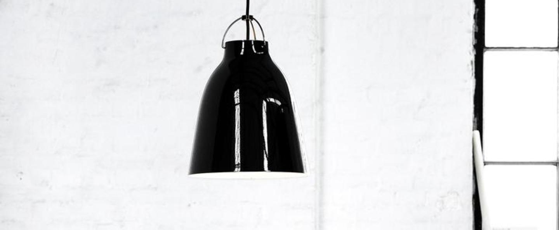 Suspension caravaggio p2 noir o25 8cm h33 7cm lightyears normal