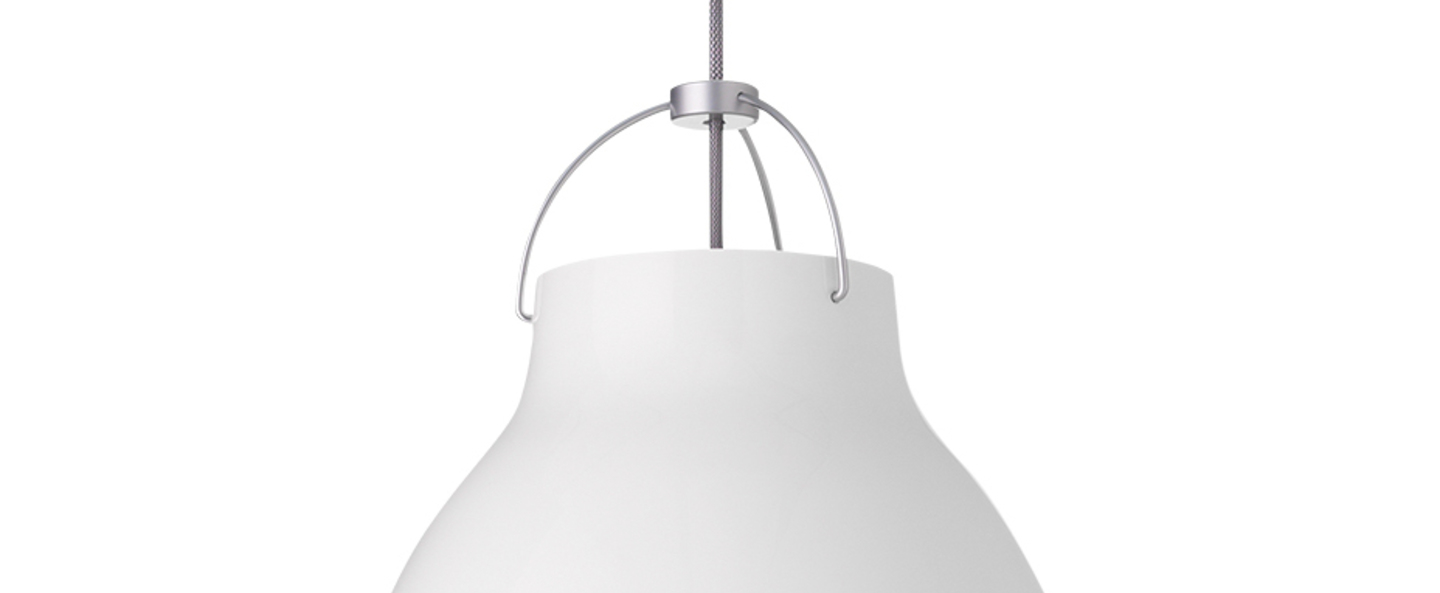 Suspension caravaggio p3 blanc o40cm h51 6cm lightyears normal