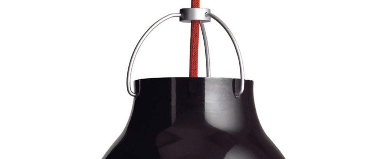Suspension caravaggio p3 noir o40cm h51 6cm lightyears normal
