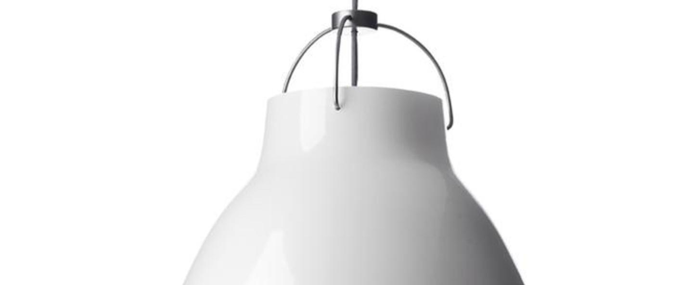 Suspension caravaggio p4 blanc o55cm h70 3cm lightyears normal