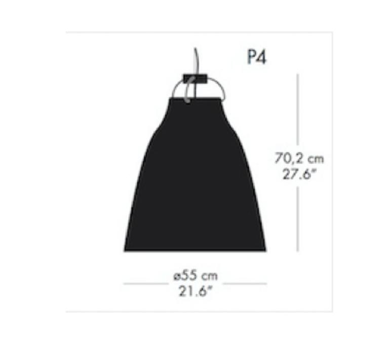 Caravaggio p4 cecilie manz suspension pendant light  nemo lighting 54008705  design signed nedgis 66604 product
