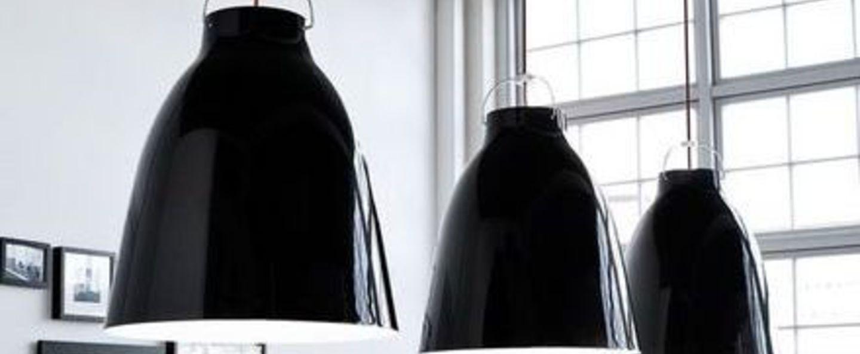 Suspension caravaggio p4 noir o55cm h70 3cm lightyears normal
