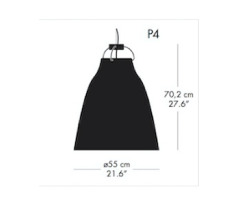 Caravaggio p4 cecilie manz suspension pendant light  nemo lighting 54007908  design signed nedgis 66609 product