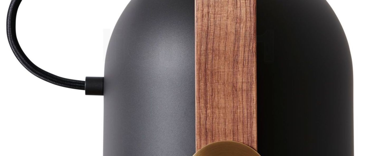 Suspension carronade s noir led o12cm h24cm le klint normal