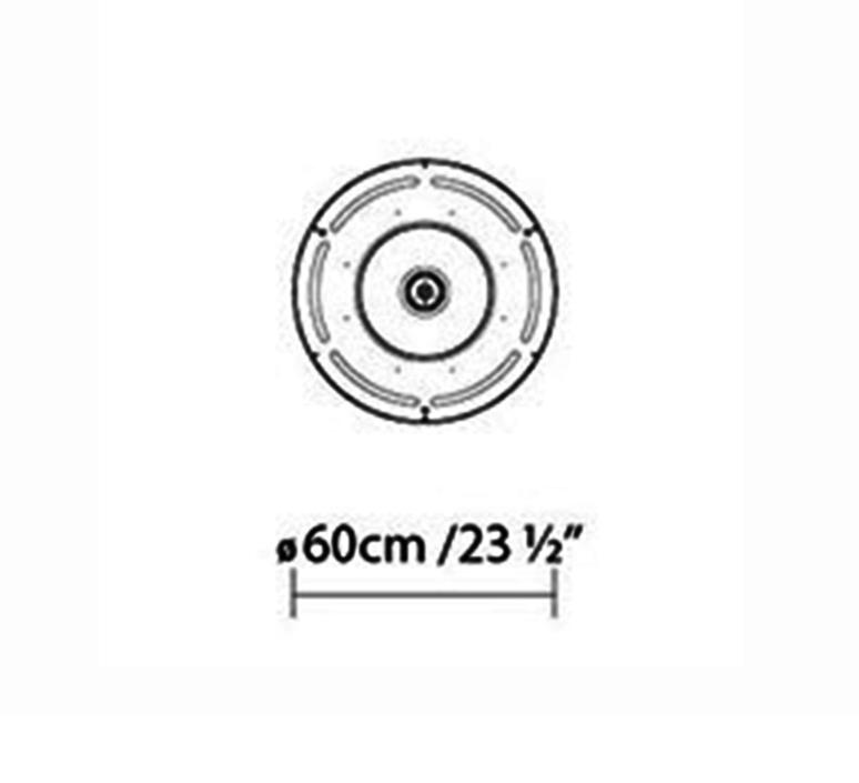 Castle s60 stone designs suspension pendant light  b lux 737312  design signed 39477 product