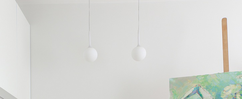 Suspension castore 14 blanc h200cm o14cm artemide normal
