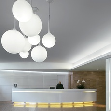 Castore 25 michele de lucchi suspension pendant light  artemide 1053010a  design signed 33392 thumb