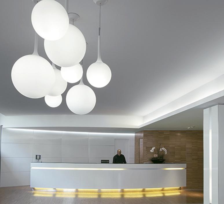 Castore 35 michele de lucchi suspension pendant light  artemide 1052010a  design signed 33399 product