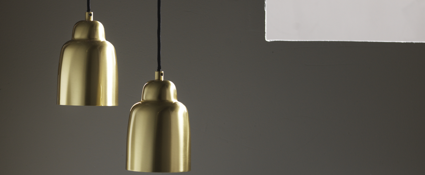 Suspension champagne or o12cm h16cm pholc normal