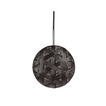 Suspension chanpen diamond m noir o26cm h26cm forestier normal