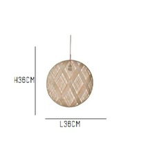 Chanpen diamond natural o 36 cm anon pairot suspension pendant light  forestier 20208  design signed 30688 thumb