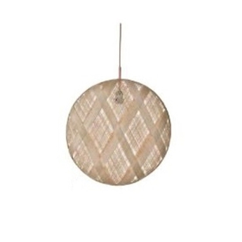 Suspension chanpen diamond natural o 36 cm beige h36cm forestier normal